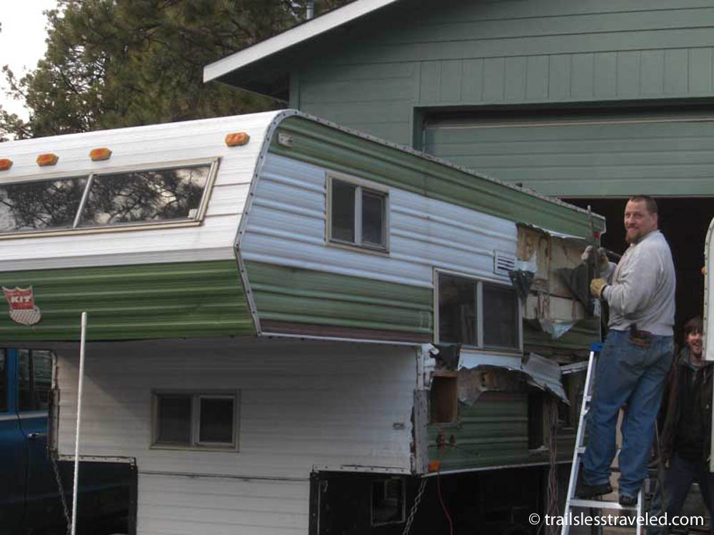 Has Anyone Built A Big Slide In Quot Truck Quot Camper For A M35