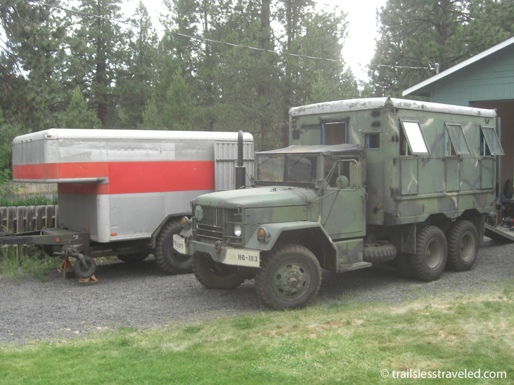 Has Anyone Built A Big Slide In Truck Camper For M35 Deuce Archive