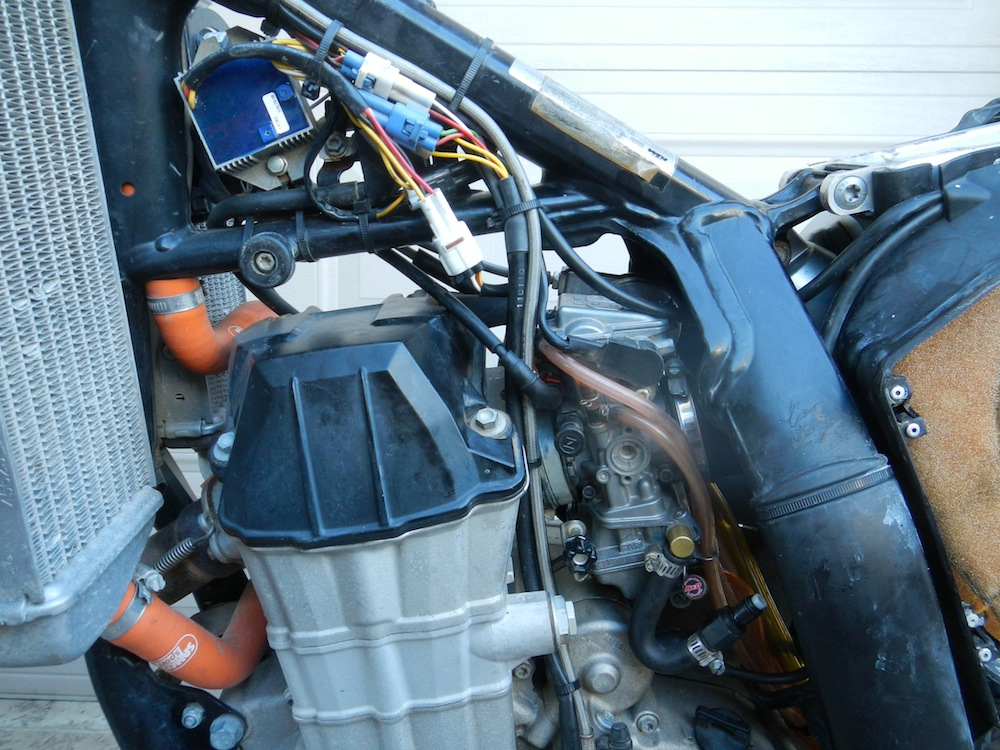 Ktm Throttle Cable Routing