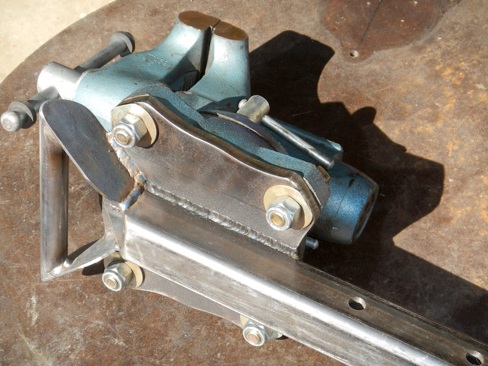 Wilton Vise Parts >> making the most of smaller workspaces - Pirate4x4.Com ...